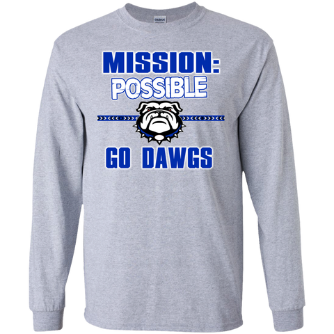 Mission Bulldogs Gildan LS Ultra Cotton T-Shirt