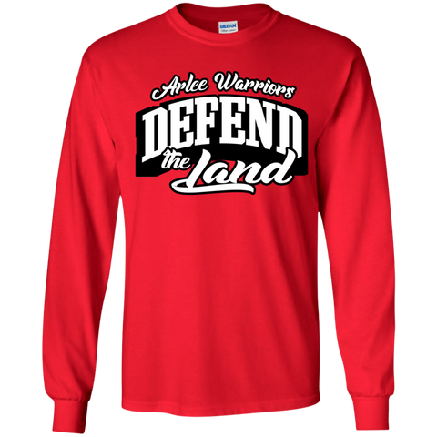 Arlee Defend the Land Gildan Youth LS T-Shirt