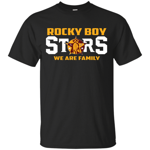 Rocky Boy Stars We Are Family Gildan Ultra Cotton T-Shirt