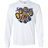 A10-Box Elder Lady Bears are Lit Gildan LS Ultra Cotton T-Shirt