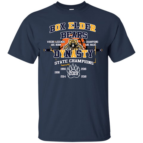 Box Elder Bears Dynasty Gildan Ultra Cotton T-Shirt