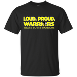 Heart Butte Warriors Loud Proud Gildan Ultra Cotton T-Shirt