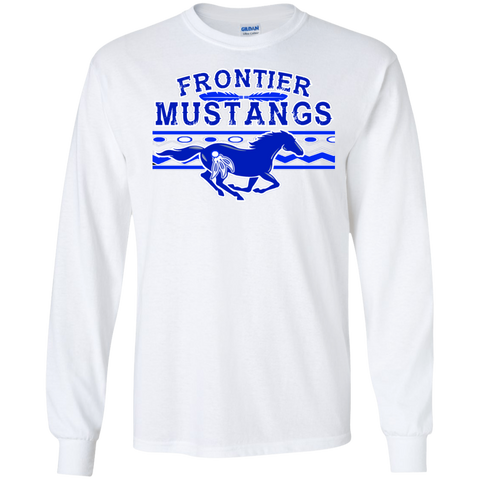 Frontier Mustangs Gildan LS Ultra Cotton T-Shirt