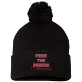 Browning Fear the Indians Sportsman Pom Pom Knit Cap