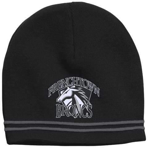 Frenchtown Broncs Sport-Tek Colorblock Beanie