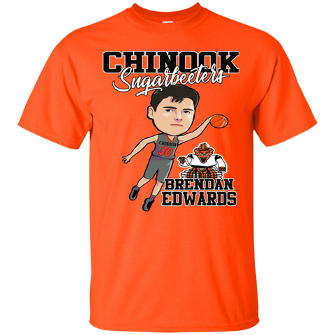 Chinook Sugarbeeters Brendan Edwards Gildan Ultra Cotton T-Shirt
