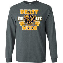 A4-Box Elder Bears Beast Mode Gildan LS Ultra Cotton T-Shirt