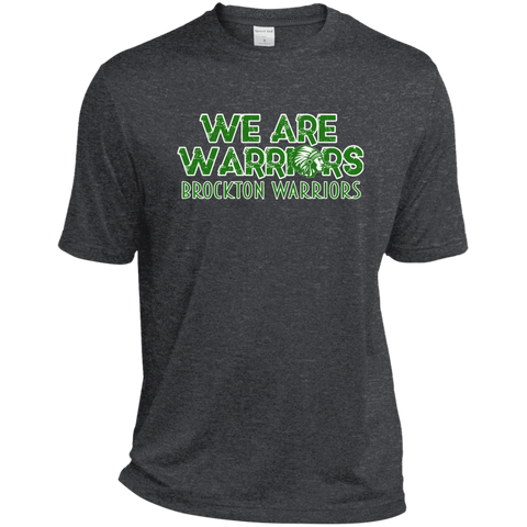 Brockton Warriors Sport-Tek Heather Dri-Fit Moisture-Wicking T-Shirt