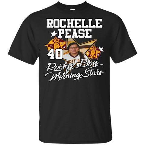 Rocky Boy Morning Stars Rochelle Pease Gildan Youth Ultra Cotton T-Shirt