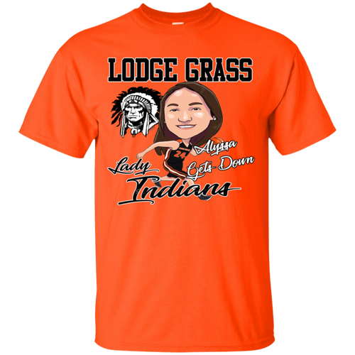 Lodge Grass Lady Indians Alyssa Gets Down Gildan Youth Ultra Cotton T-Shirt