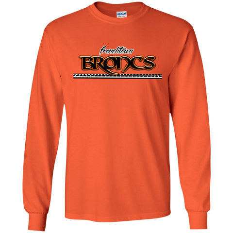 Frenchtown Broncs Gildan LS Ultra Cotton T-Shirt