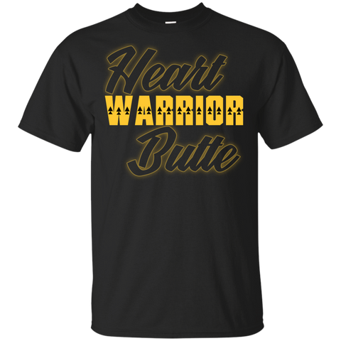 Heart Butte Warrior Up Gildan Youth Ultra Cotton T-Shirt
