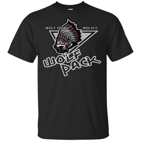 Wolf Point Wolves Wolf Pack Gildan Youth Ultra Cotton T-Shirt