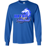 Havre Volleyball Gildan Youth LS T-Shirt