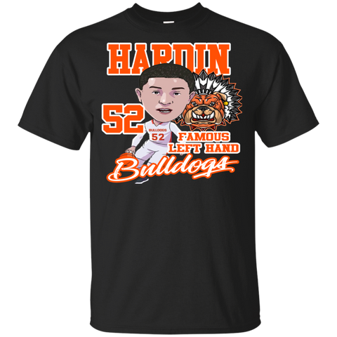 Hardin Bulldogs Famous Lefthand Gildan Youth Ultra Cotton T-Shirt