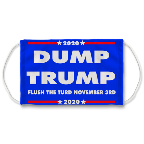 DUMPTRUMP Sublimation Face Mask + 10 Replacement Filters