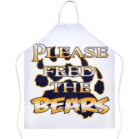 Box Elder Please Feed The Bears Apron