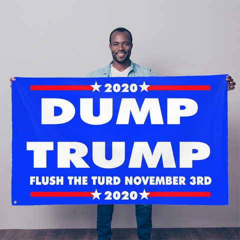 DUMPTRUMP Sublimation Flag