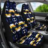 Navy/Gold Car Seat Covers