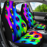 Rainbow Native Print Car Seats