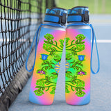 Native Pastel Floral Hydro Tracking Bottle