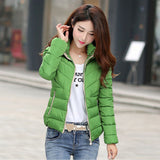 Winter Jacket Women Hooded Cotton Coat Feminine Jackets