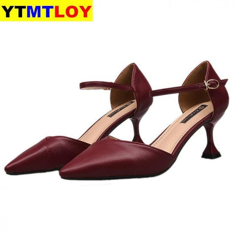 Pointed Toe Fetish Designer Women Extreme Mules High Heels Shoes Pumps Wedding Heels