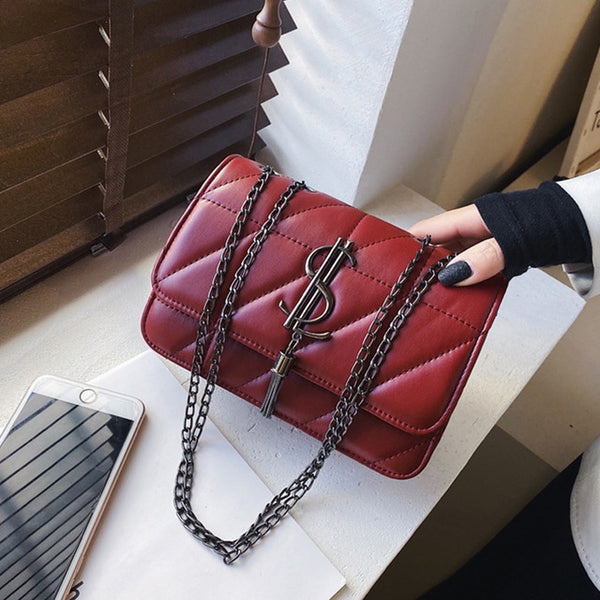 Black Red White Luxury Handbags Women Bags Purse Hand Shoulder Bag
