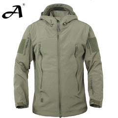Army Camouflage Military Jacket Waterproof Windbreaker Raincoat Army Men Jackets Coats