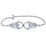 Sexy Crystal Collar Chokers Necklace for Women Luxury Bohemian Wedding Maxi Statement Necklace
