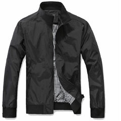 Mens Spring Summer Jackets Casual Thin Male Windbreakers College Bomber Windcheater Jacket