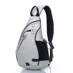 Chest Pack Nylon Zipper Women's Messenger Bags Men's School Modern Shoulder Unisex Crossbody Bag