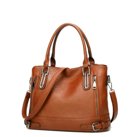 Casual Leather Handbag Luxury Women Shoulder Bags Crossbody Messenger Totes Bag