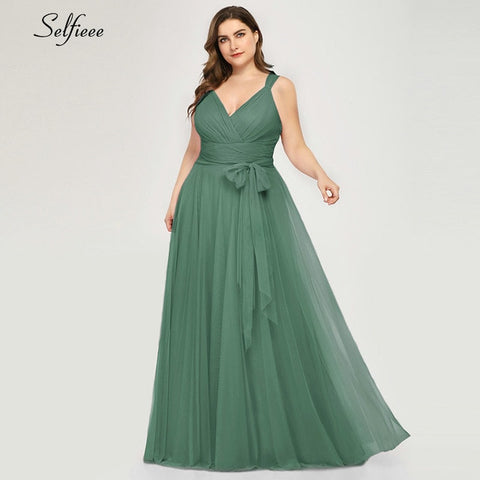 Casual Plus Size Maxi Dress Sash Beach A Line Long Women Spring Summer Dress