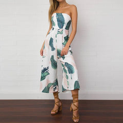 Casual Jumpsuits Off Shoulder Summer Bodysuit Beach Sexy Rompers Jumpsuits Pants