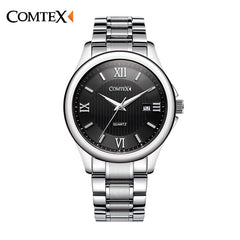 Comtex Men's Date Wrist Watch Analog Display Quartz Movement Casual Men Watches