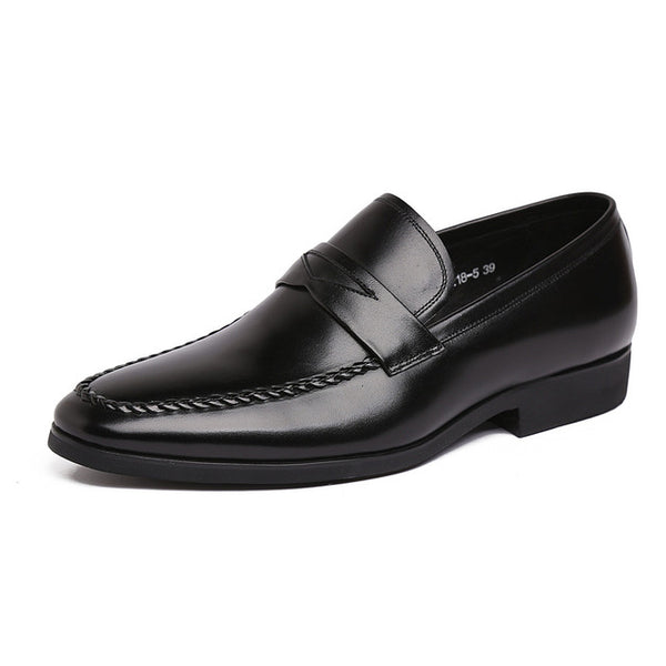 Handmade Men Wedding Shoes Genuine Leather Breathable Elegant Mens Formal Shoes