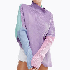 Colorful Tops Long Sleeve Warm Pullovers Winter Clothes