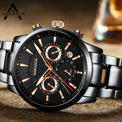 Luxury Sports Watches Waterproof Military Watch Men Casual Japanese Quartz Wristwatches Clock
