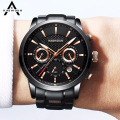 KASHIDUN Watch Men Sport Watch Waterproof Military Quartz Wristwatch Hot Clock