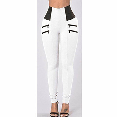 Slim Fit High Waist Push Up Leggings Women Patchwork Workout Fitness Legging Bodybuilding Pants