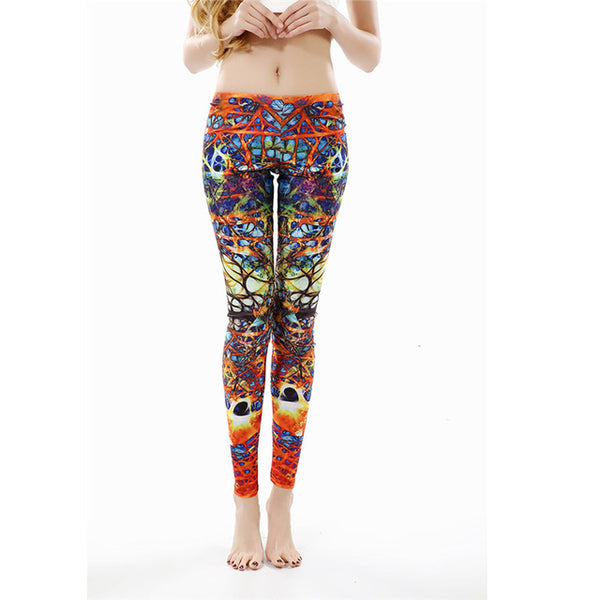 NADANBAO Autumn Legging Black Blue Purple Objects Leggings Printed Women Leggings Pants