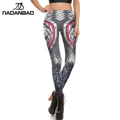 NADANBAO Summer Leggings Leggings Individuality Printed Women Pants