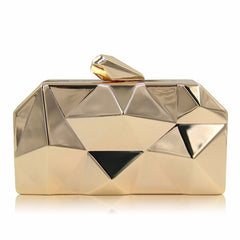 NATASSIE Women Clutch Purses Ladies Gold Bag Metallic Evening Clutches Bags