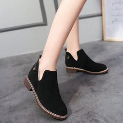 snow ankle boots warm winter shoes