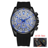 Casual Sports Watches Men Top Luxury Clock Silicone Quartz Army Military Wrist Watch