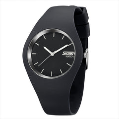 Quartz Sport Watches Men Women Casual Quartz-watch Student Silicone Jelly Watch Girls Boys
