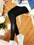 Leggings Women Cotton Lace Decoration Leggings Long Leggings