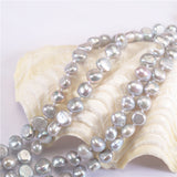 AA Real Genuine Freshwater Pearl Necklace Mixed Color Natural Cultured Pearl Necklace Pendant