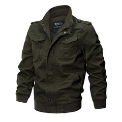 Military Bomber Jacket Men Winter Thermal Cotton Jacket Male Army Pilot Jackets